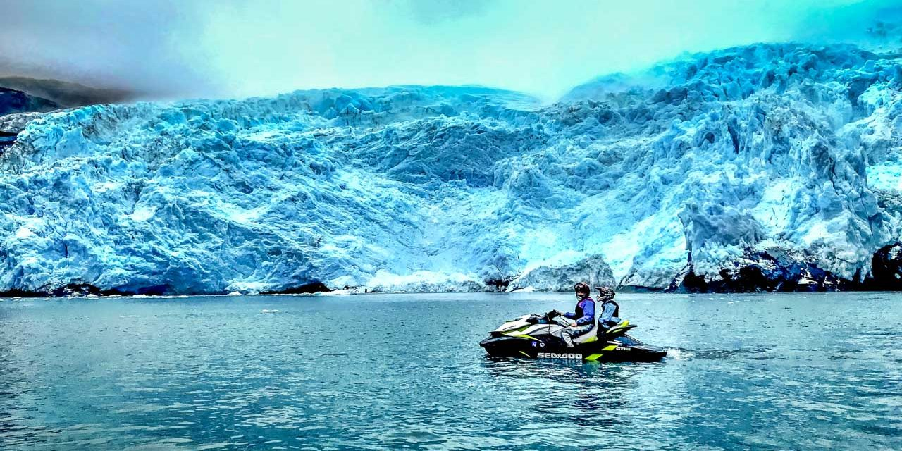 Glacier Hunting in Wild Alaska, on a Jet Ski!