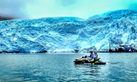 Glacier Hunting in Wild Alaska, on a Jet Ski!