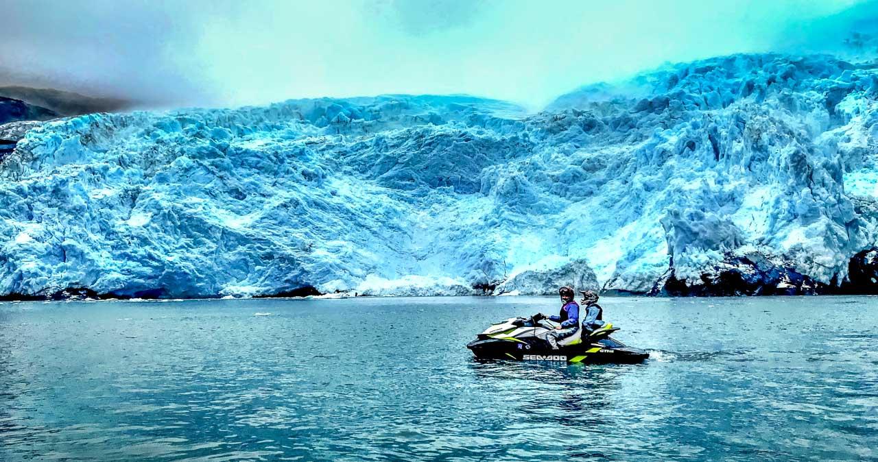 Glacier Hunting in Wild Alaska, on a Jet Ski! 1
