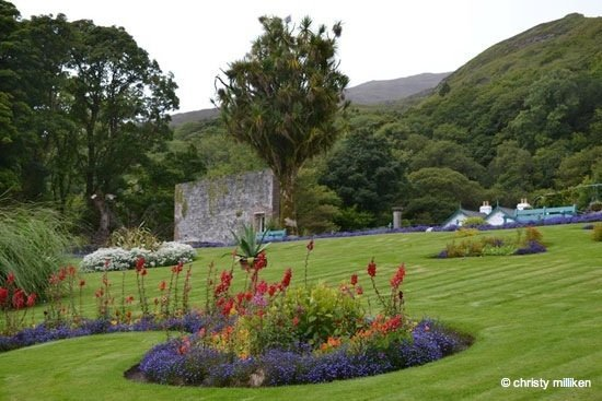 photo-161 Ireland – The Victorian Walled Gardens of Kylemore Abbey
