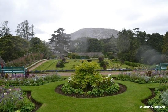 Ireland - The Victorian Walled Gardens of Kylemore Abbey