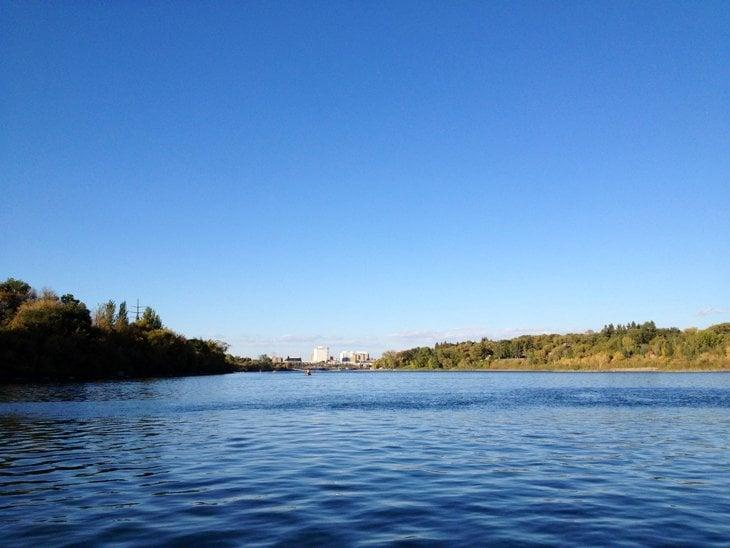 Canada - Paddling Down To Saskatoon