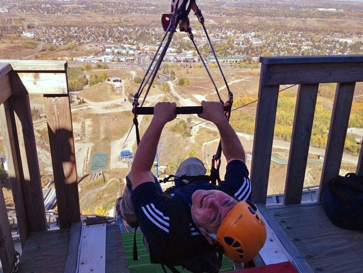 Canada – Pumping Adrenalin And Speed On The Calgary Zipline 1