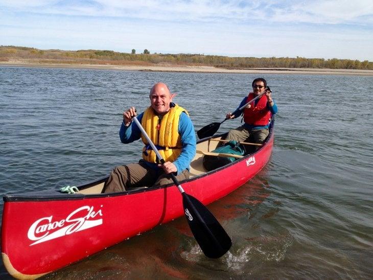 Canada – Paddling Down To Saskatoon