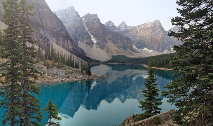 photo38 Canada – The Emerald Lakes And Peaks Of Banff