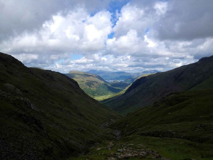 photo5 The Beauty of Wandering Off Track – Scafell Pike