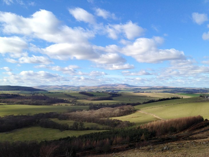 Northumberland - Spring Hiking Sun