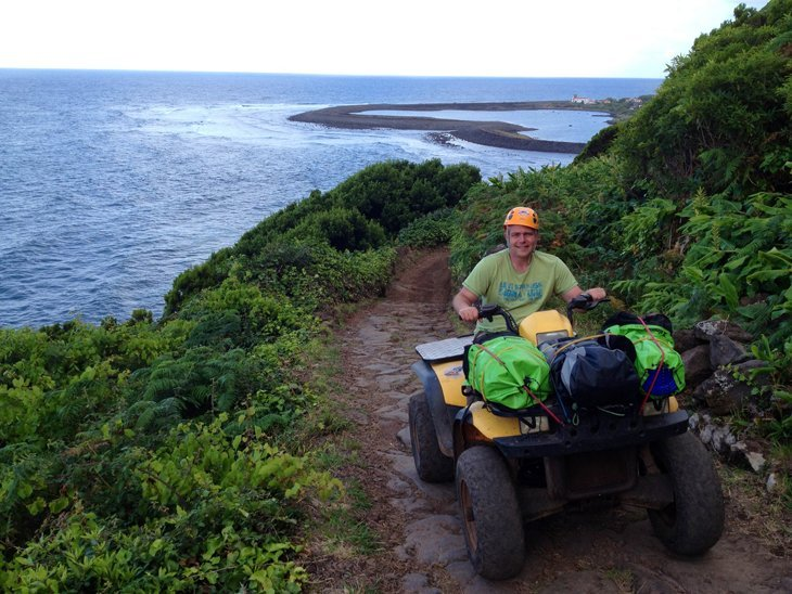 photoquad The Azores – A Sao Jorge Adventure from Top to Bottom