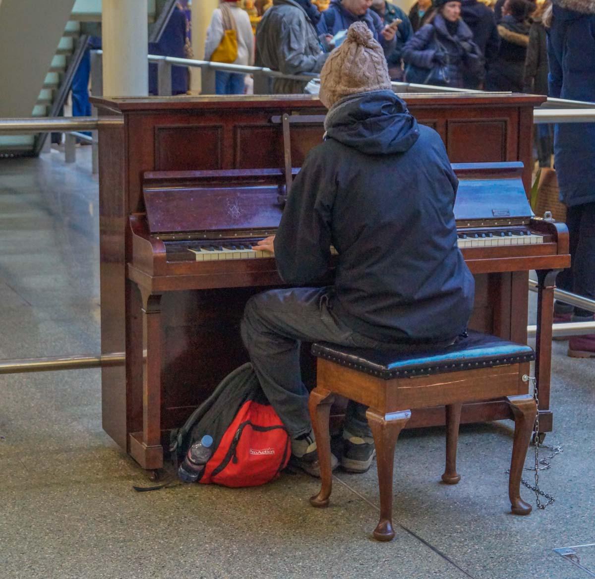 piano St Pancras International - Gateway to European Adventure