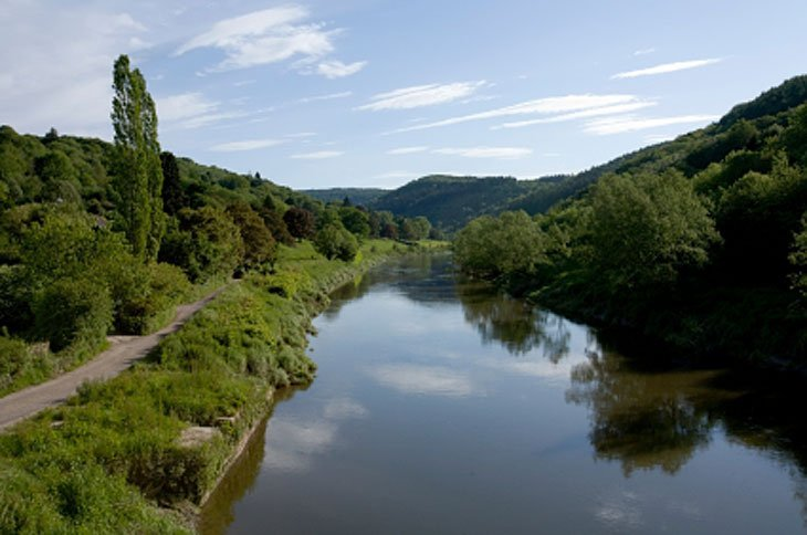 Wind Down Along The River Wye