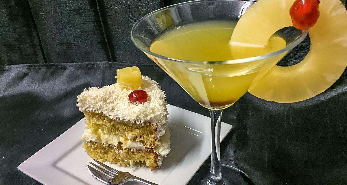 Boozy Pina Colada Cake