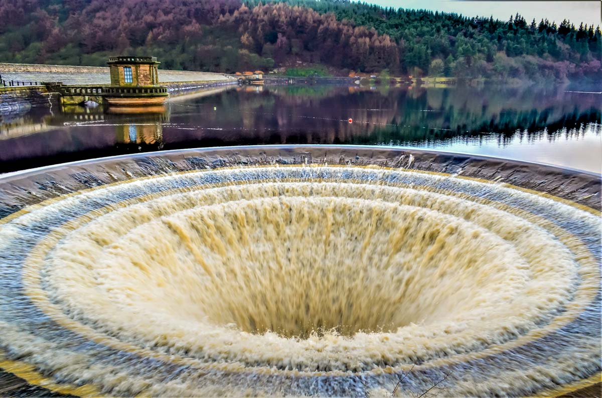 plug-holes-3 A Derwent Dam Circular Walk in the Peak District