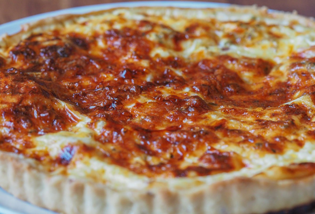 quiche-recipe A Simple and Delicious Quiche Recipe