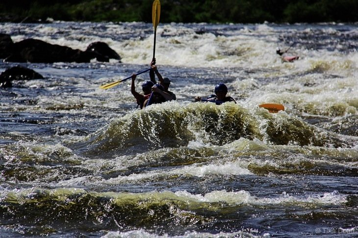 sport on the Exploits River