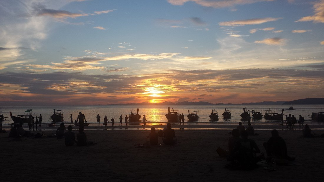railay sunset-7