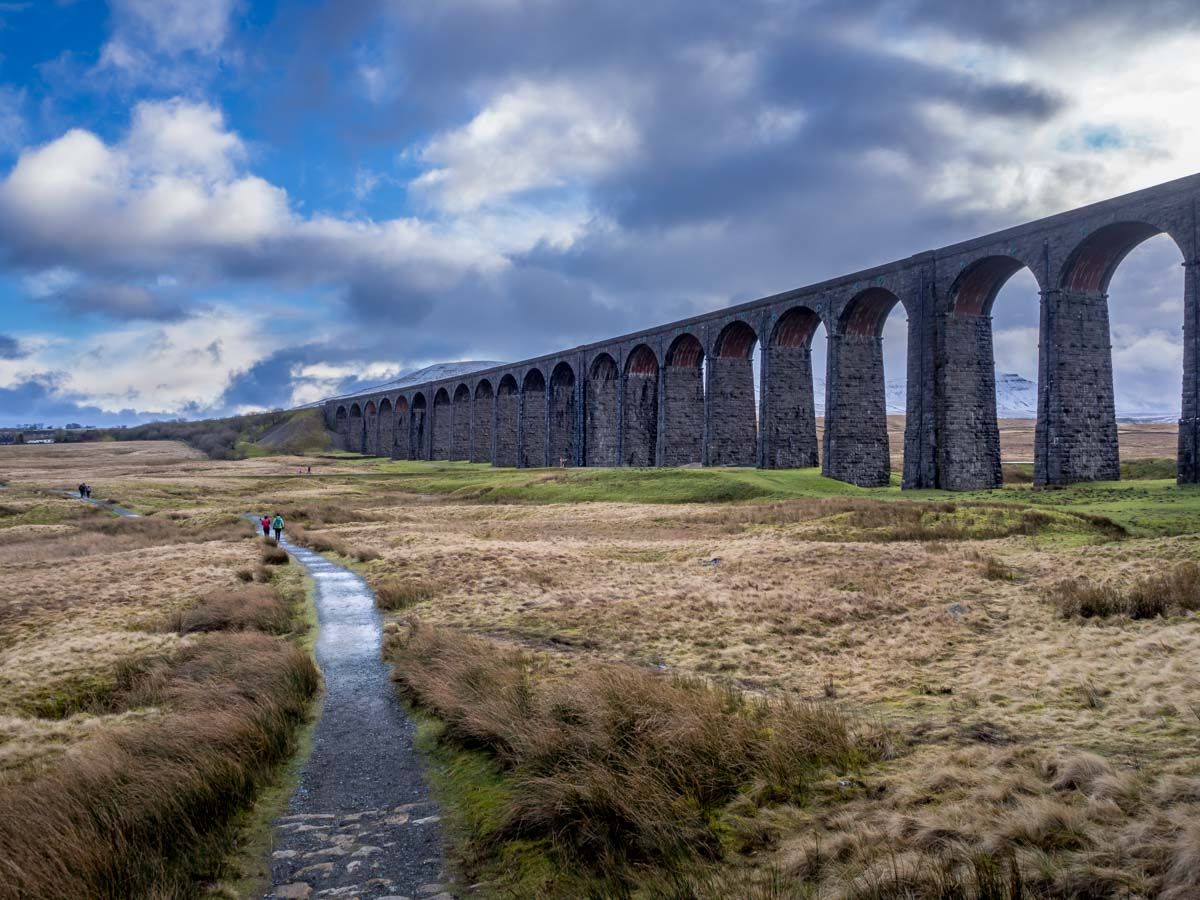 ribble-9 Ribblehead Viaduct And A Grand Yorkshire Walk