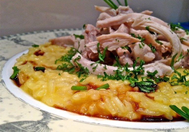 Saffron Risotto & Coconut Poached Chicken