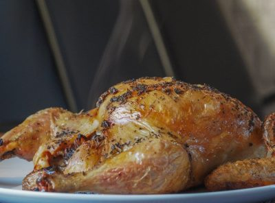 Darn Good Roast Chicken & Herb Roast Potatoes