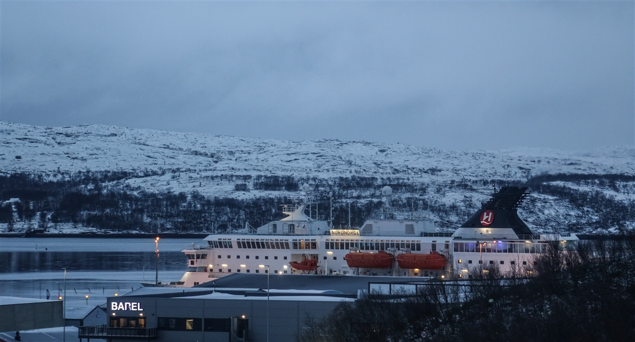 russian border-12- kirkenes hurtigruten