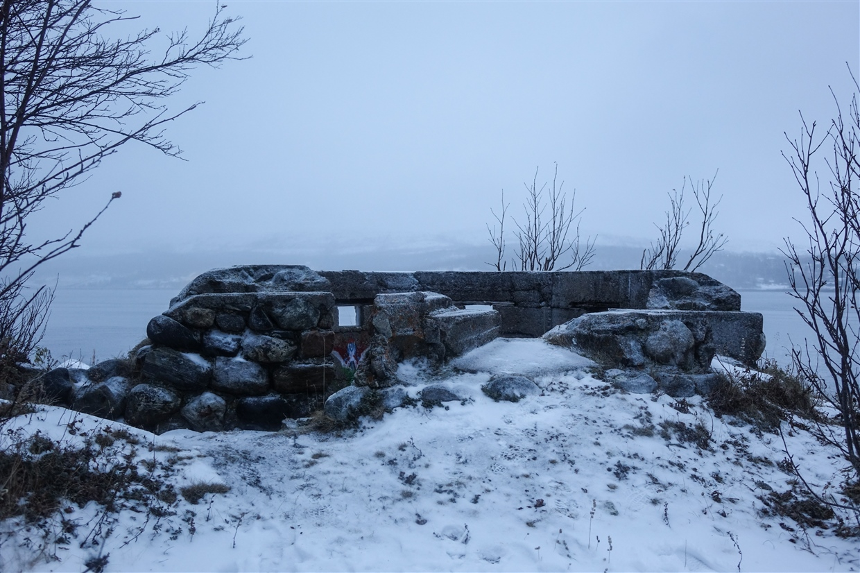 Kirkenes and a Hike Toward the Russian Border