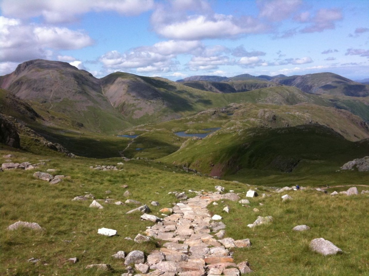 Wandering Above England – Scafell Pike