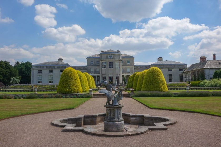 Shugborough Hall from the front
