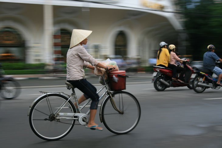 Vietnam by Train and Bicycle