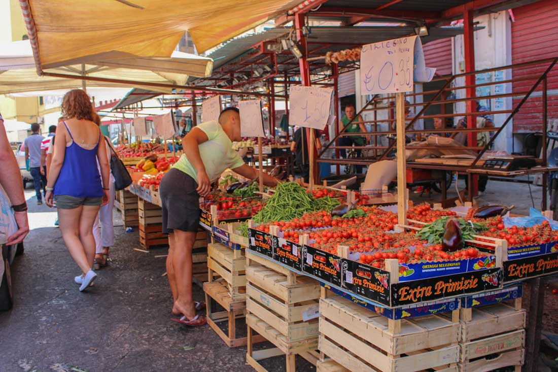 Sicily: Street Food and Street Art