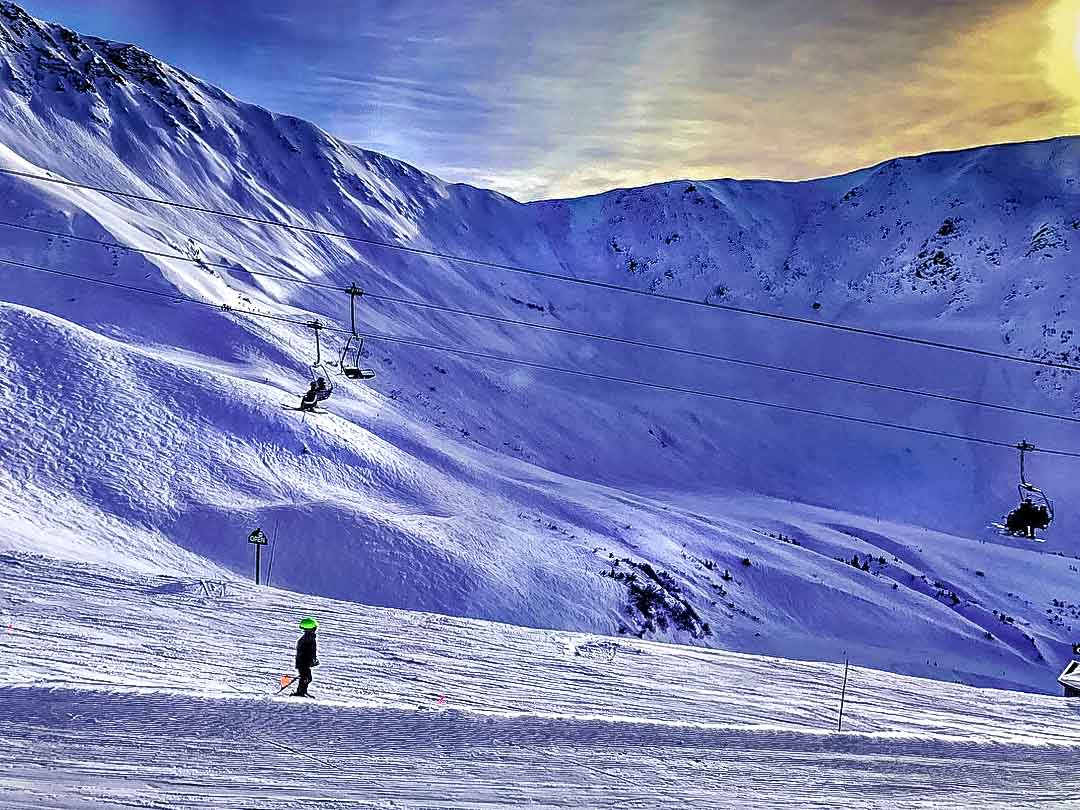 skiing-Alyeska Alaska in the Winter - Amazing Scenery