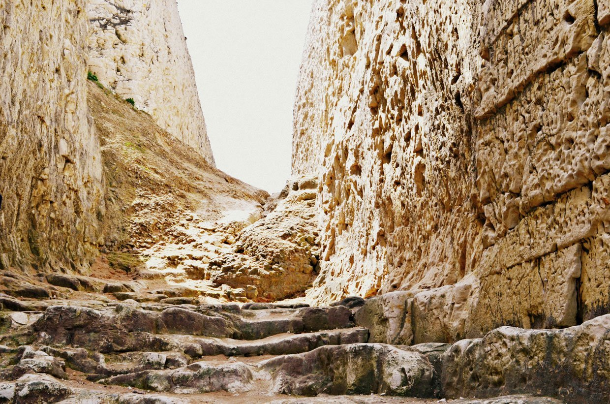 smugglers-steps A Stroll around Botany Bay & Tales of Smugglers in Kent