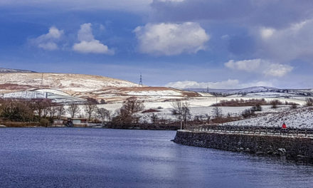 Hollingworth Lake, Rochdale – A Wintry Walk Around A Local Gem