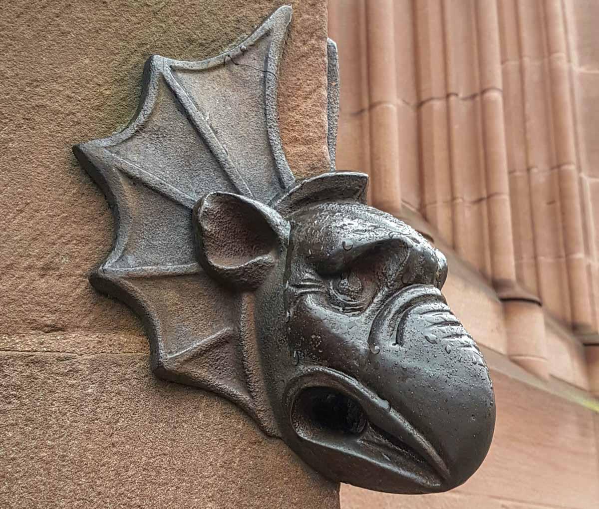 strasbourg-Gargoyle A Magical Christmas in Strasbourg