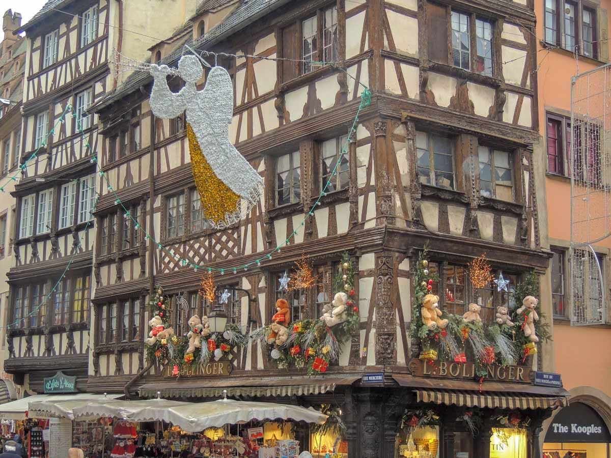strasbourg-teddy-bear-building A Magical Christmas in Strasbourg