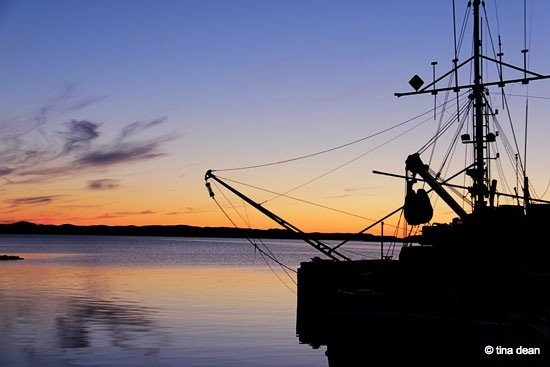 Sunrises and sunsets of Newfoundland