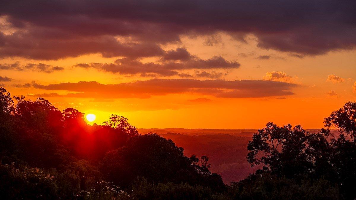 sunset10 Australian Summer Sunsets on Tugalong Road
