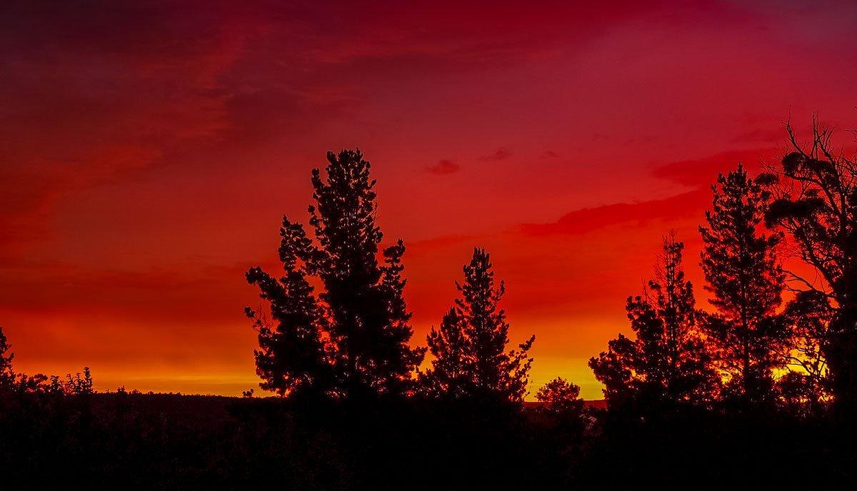 sunset5 Australian Summer Sunsets on Tugalong Road