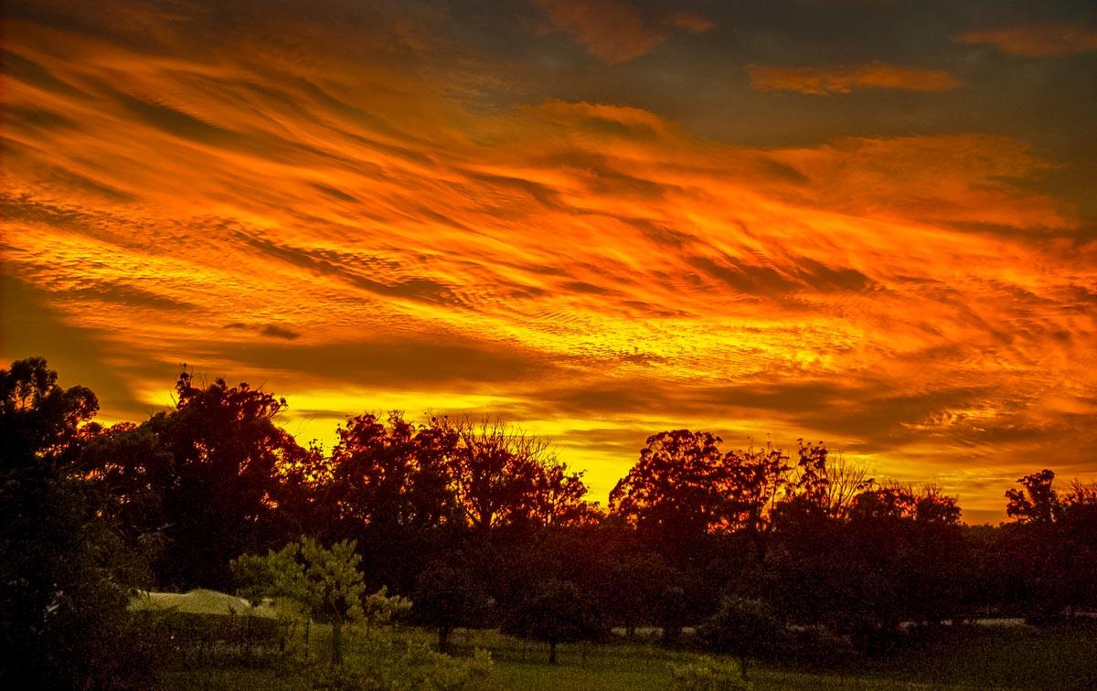 sunset9 Australian Summer Sunsets on Tugalong Road