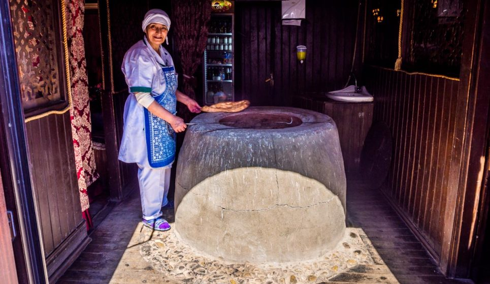 Tandir Bread maker baku