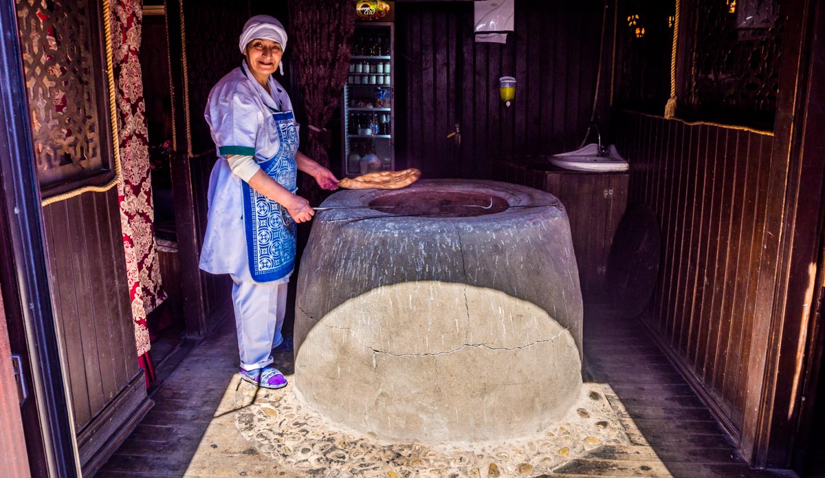 Tandir Bread maker baku