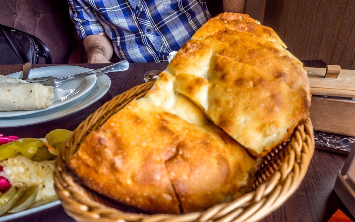 Azerbaijan - Təndir Bread in Old City Baku