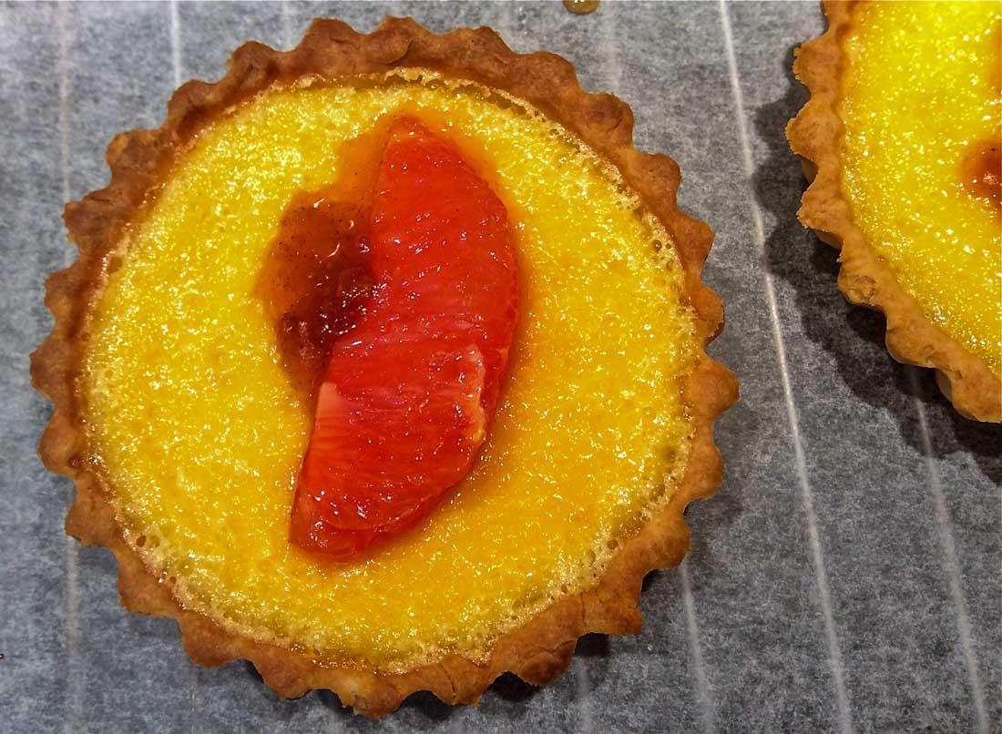 Ruby Grapefruit Tartlets 1