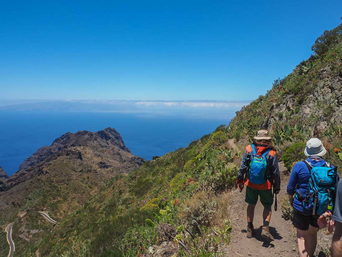 Walking Tenerife - Erjos to Masca