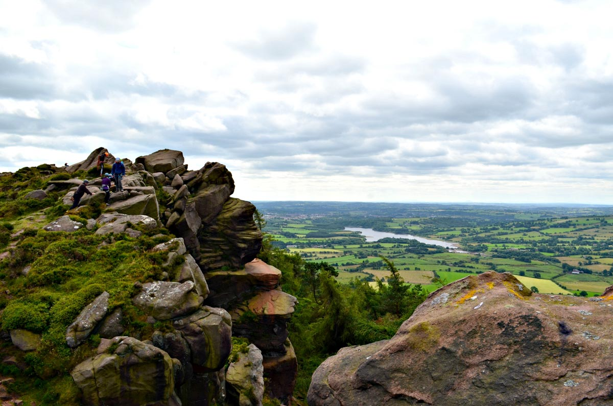 A Hen Cloud Ramble In The Roaches, Staffordshire