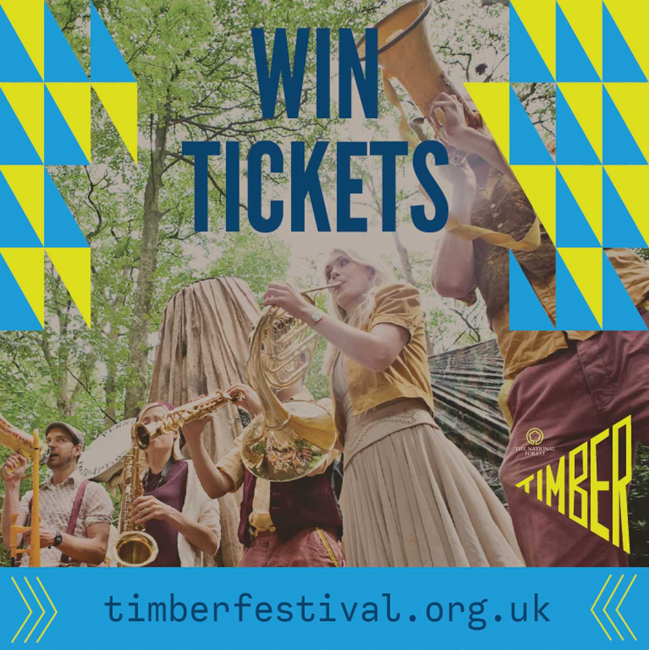 Win Family Tickets to The Timber Festival!