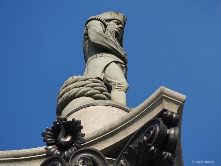 A little time in Trafalgar Square