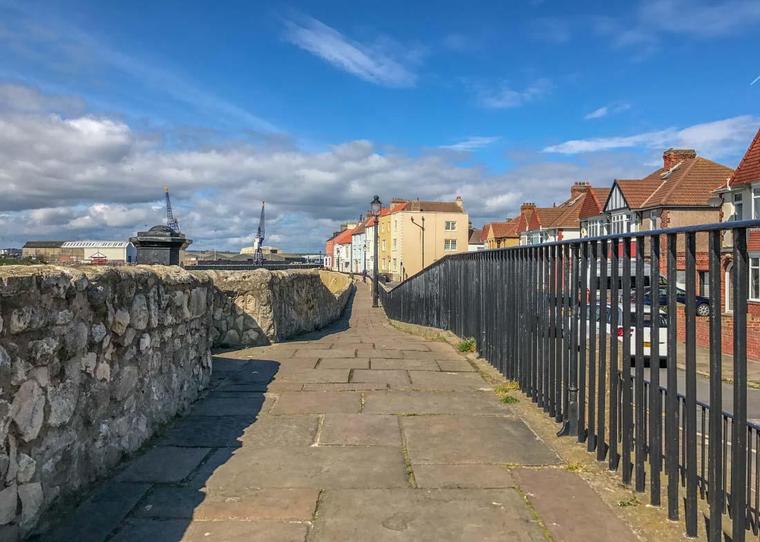 sea wall walk