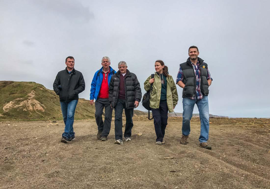 Tyne To Tees Walk: Easington Colliery to Beyond Crimdon