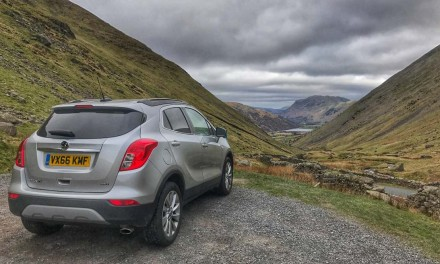 Over Kirkstone Pass in the Vauxhall Mokka X