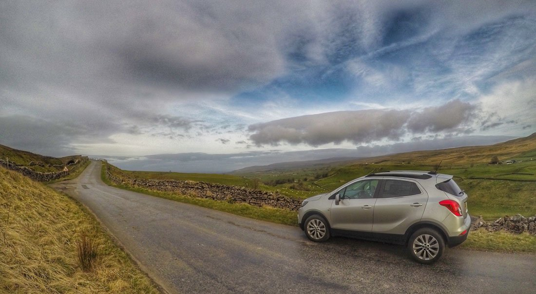 Cumbria Adventures in The Vauxhall Mokka X