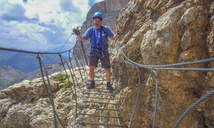 Via Ferrata in the Dolomites
